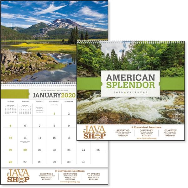 American Splendor 2020 Calendar