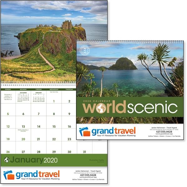 World Scenic 2020 Calendar