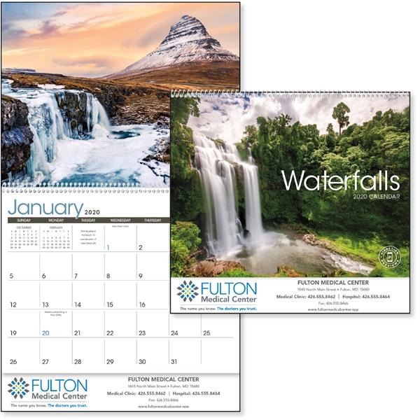 Waterfalls 2020 Calendar