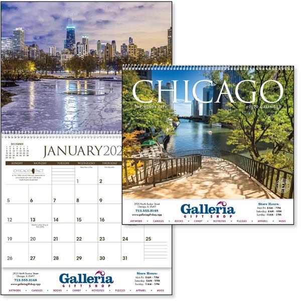 Chicago 2020 Calendar