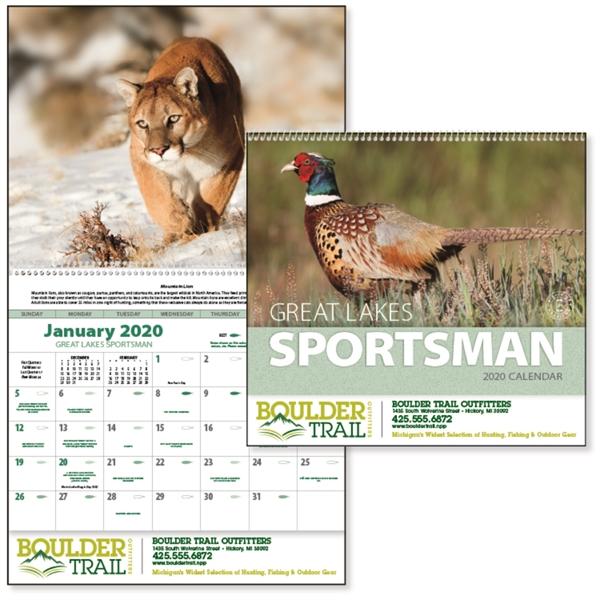 Great Lakes Sportsman 2020 Calendar