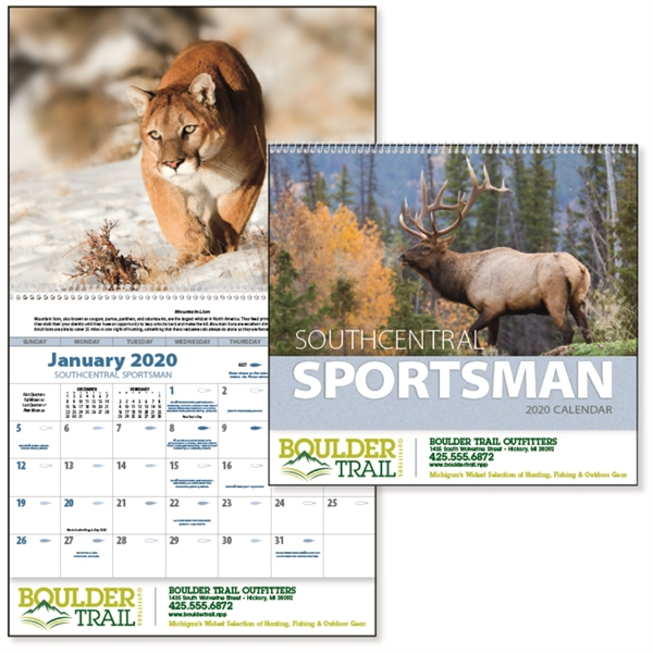 South Central Sportsman 2020 Calendar