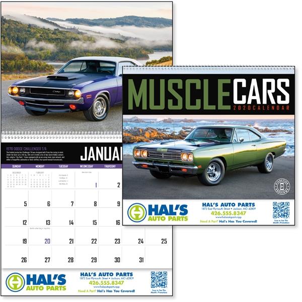 Muscle Cars 2020 Calendar