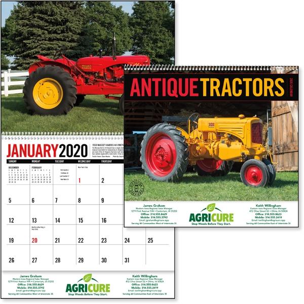 Antique Tractors 2020 Calendar