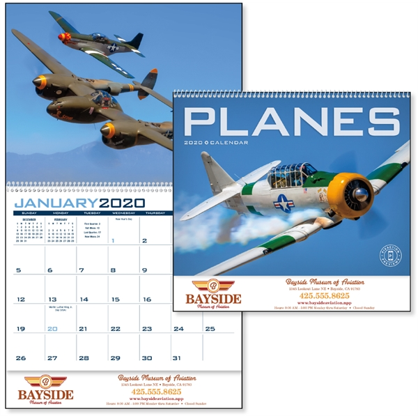 Planes 2020 Calendar