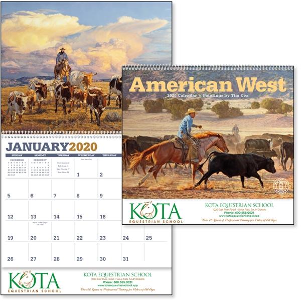 American West 2020 Calendar