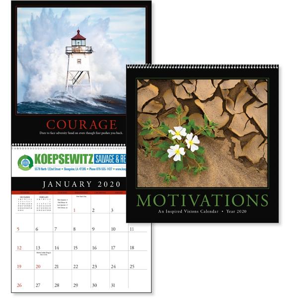 Motivations 2020 Calendar