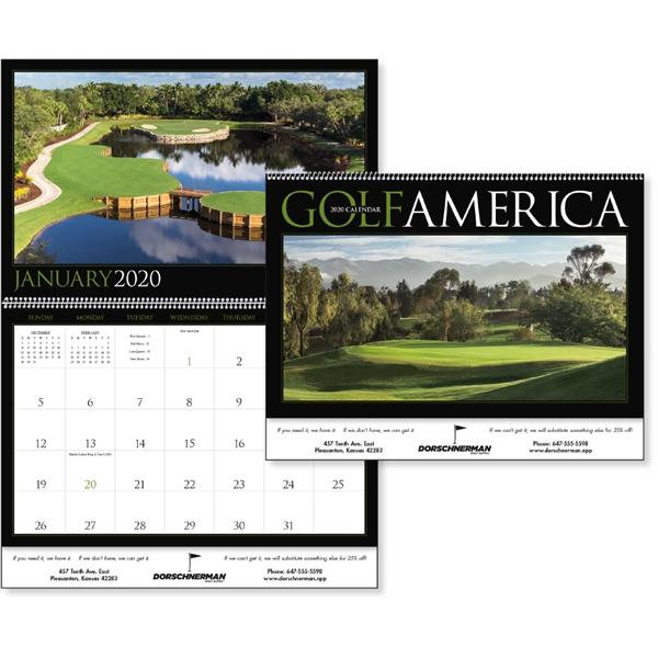 Golf America 2020 Calendar