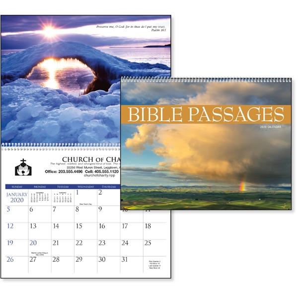 Bible Passages 2020 Calendar