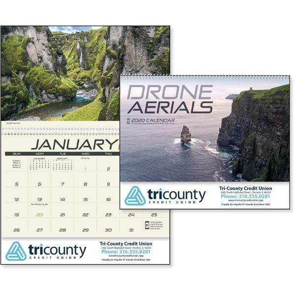 Drone Aerials 2020 Calendar