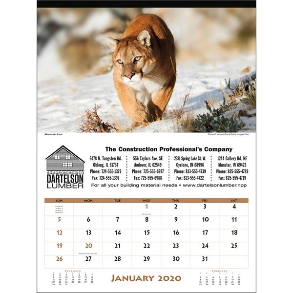 North America Wildlife 2020 Calendar