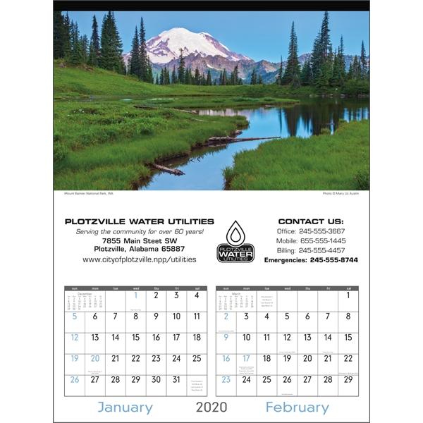 Scenes of America 2020 Calendar