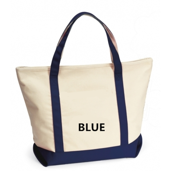 Canvas Boat Tote Bag