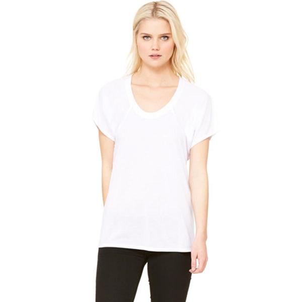 Bella + Canvas Ladies Flowy Raglan T-Shirt