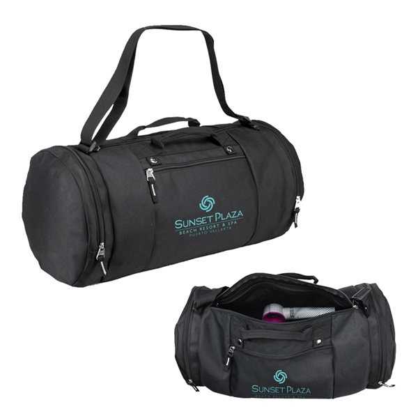600D Polyester Round Duffel Bag