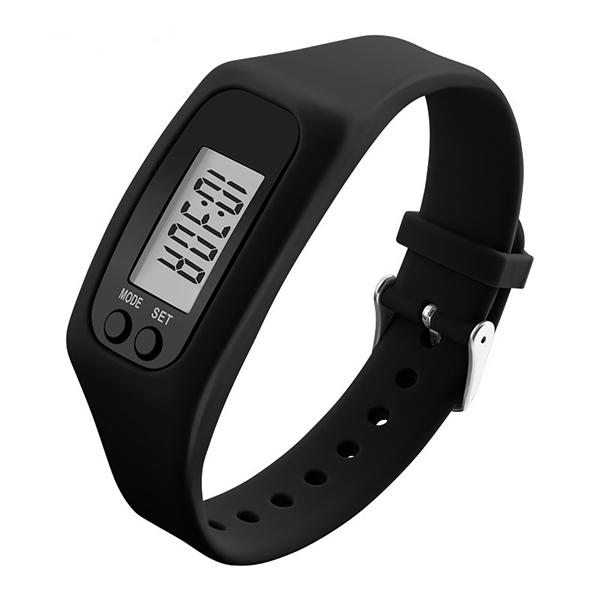 Wristband Silicone Pedometer