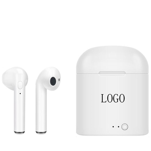 Wireless In-Ear Earbuds w/Charging Box
