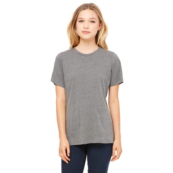 Bella and Canvas Ladies Relaxed Jersey Triblend T-Shirt
