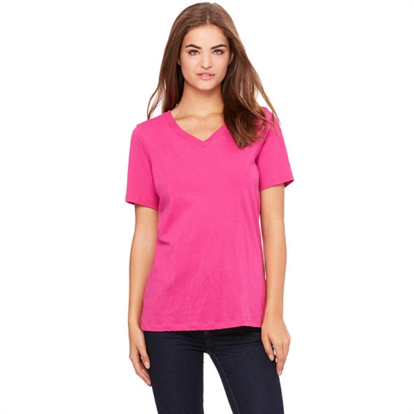 Bella Missy Fit Jersey Short Sleeve V-Neck T-Shirt