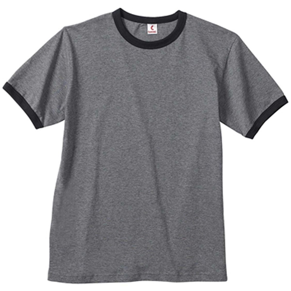 Canvas Men's Robertson Heather Ringer T-Shirt - Dark/All
