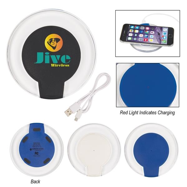 Light Up Wireless Charging Pad