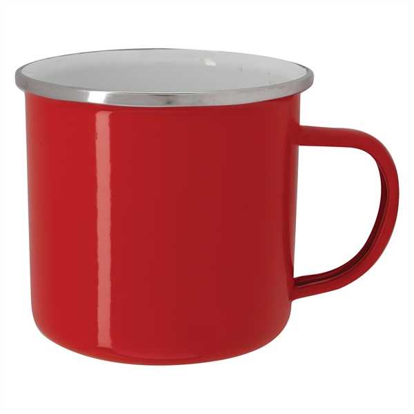 16 Oz. Enamel Campfire Mug
