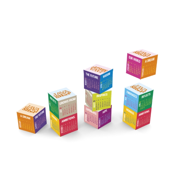 Magnetic Cube 2020 Calendar