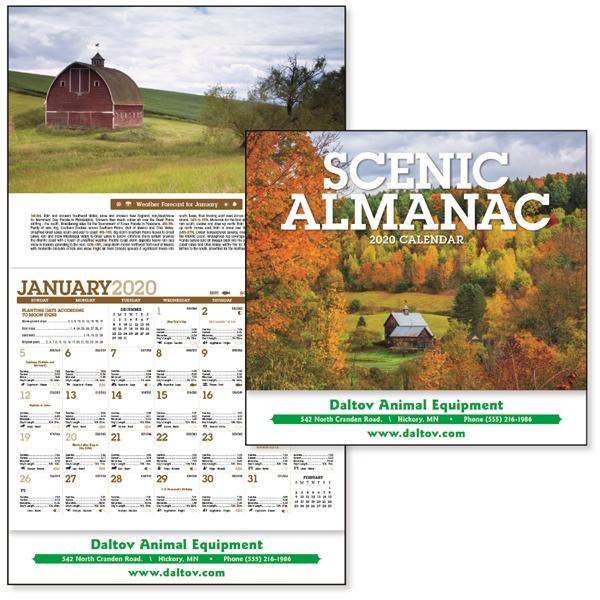 Scenic Almanac 2020 Calendar