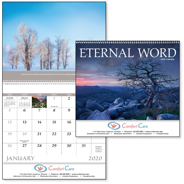 Spiral Eternal Word Religious 2020 Appointment Calendar