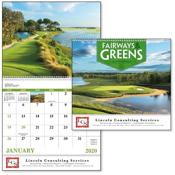 Spiral Fairways & Greens Lifestyle 2020 Appointment Calendar
