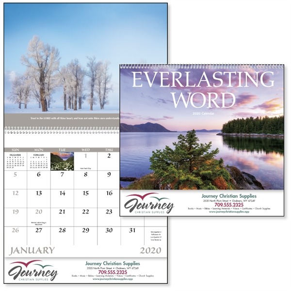 Spiral Everlasting Word Religious 2020 Appointment Calendar