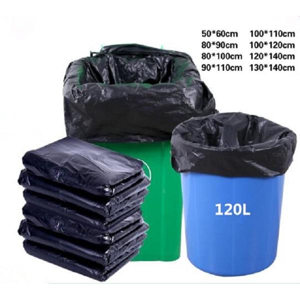 120L Black Garbage Bag