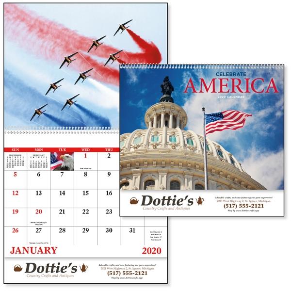 Spiral Celebrate America Americana Appointment Calendar
