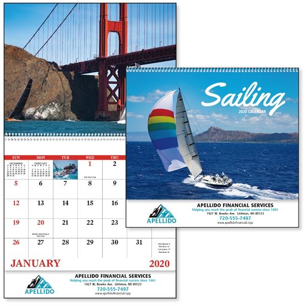 Sailing 2020 Calendar