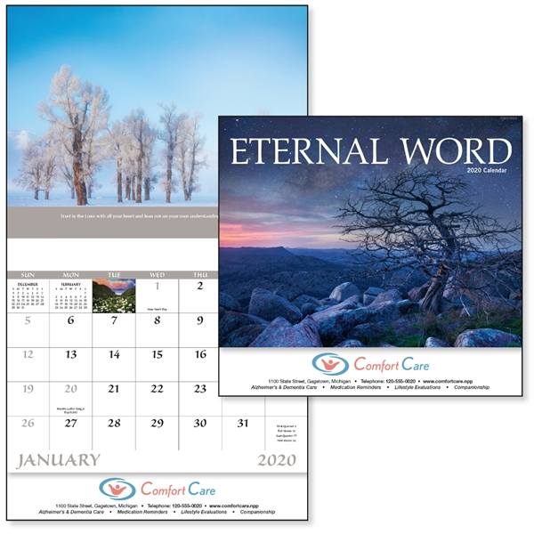 Stapled Eternal Word Religious 2020 Appointment Calendar