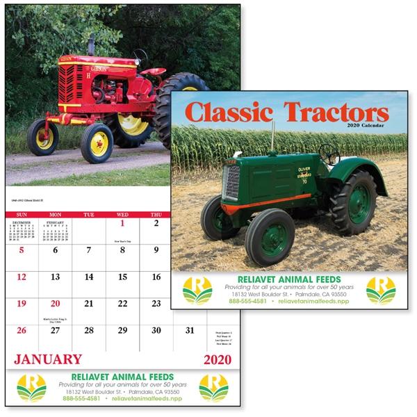 Stapled Classic Tractors 2020 Calendar