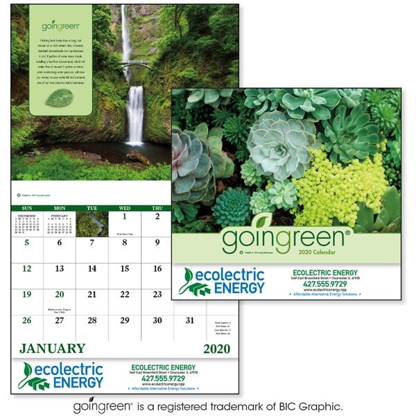 Stapled GoinGreen® Inspirational Appointment Calendar