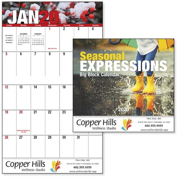 Seasonal Expressions Big Block - Stapled