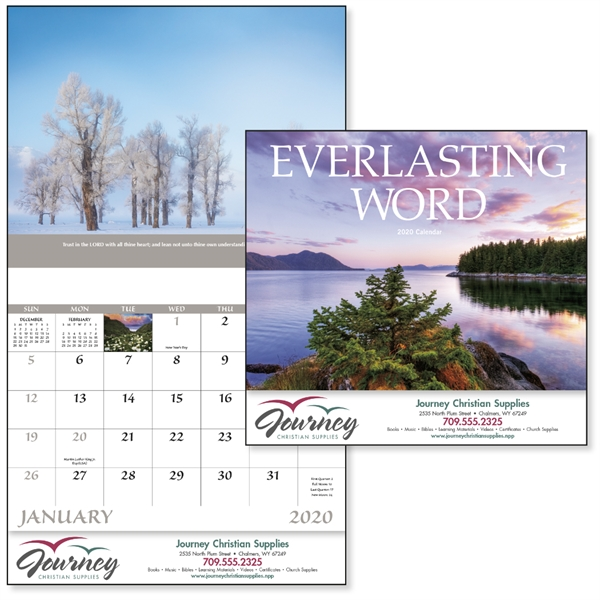 Stapled Everlasting Word Religious 2020 Appointment Calendar