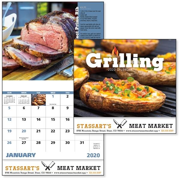 Stapled Grilling 2020 Calendar