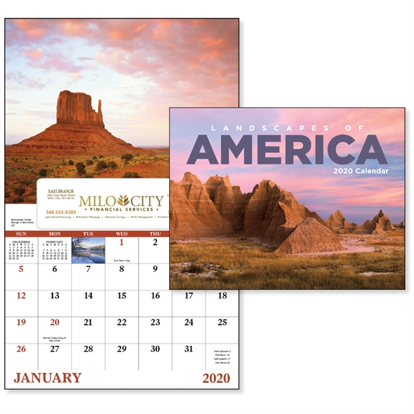 Window Landscapes of America Scenic Appointment Calendar