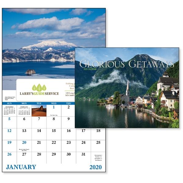 Window Glorious Getaways Scenic 2020 Appointment Calendar