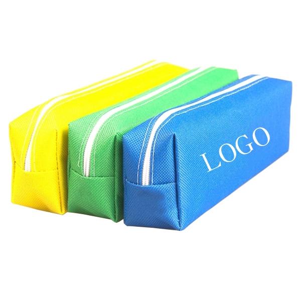 Pencil Bag With Zipper Closure