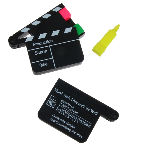 Clapboard Highlighter Set