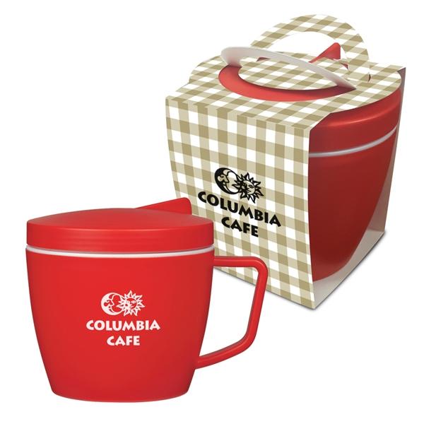 14 Oz. Thermal Mug Set With Custom Handle Box