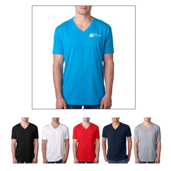 Next Level Men's Premium CVC V-Neck T-Sh