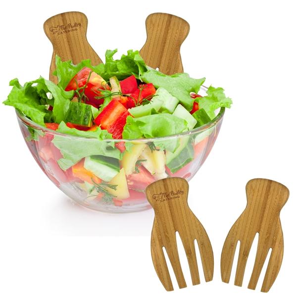 Bamboo Salad Tongs