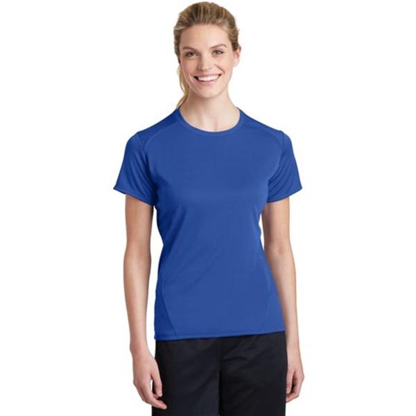 Sport-Tek Ladies Dry Zone Raglan Accent T-Shirt