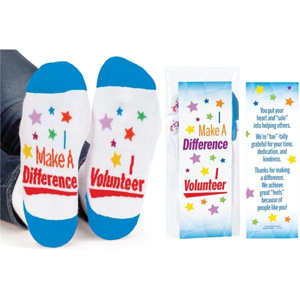 Volunteers I Make A Difference I Volunteer Socks