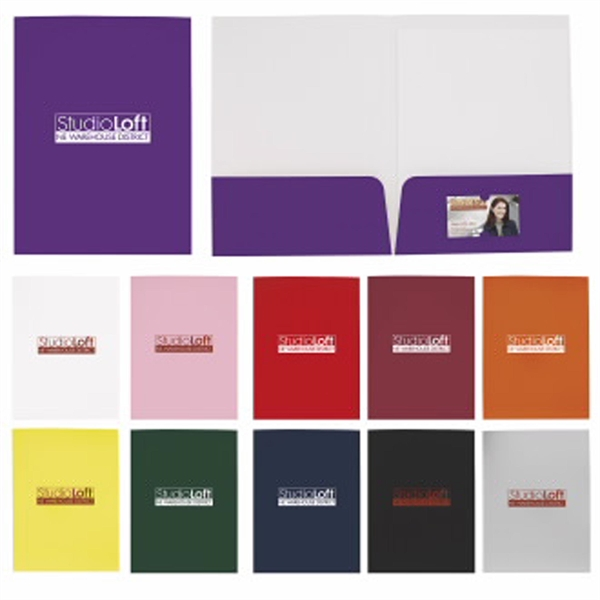 Gloss Paper Folder